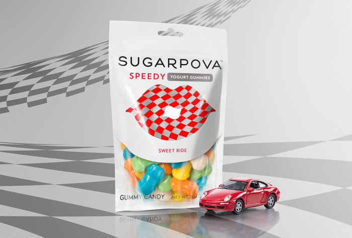 "Maria Sharapova Launches Sugarpova ""Speedy"" Gummies"