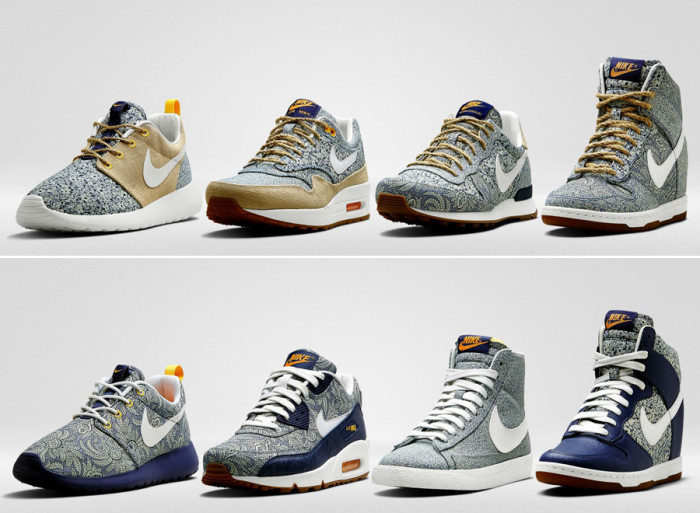 Liberty London x Nike Sportswear Spring 2014 Sneaker Collection