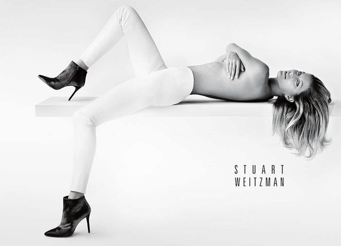 Gisele Bündchen for Stuart Weitzman Fall 2014 Campaign