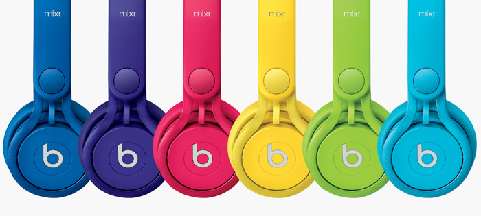 Beats by Dr. Dre Colr Mixr On-Ear Headphones