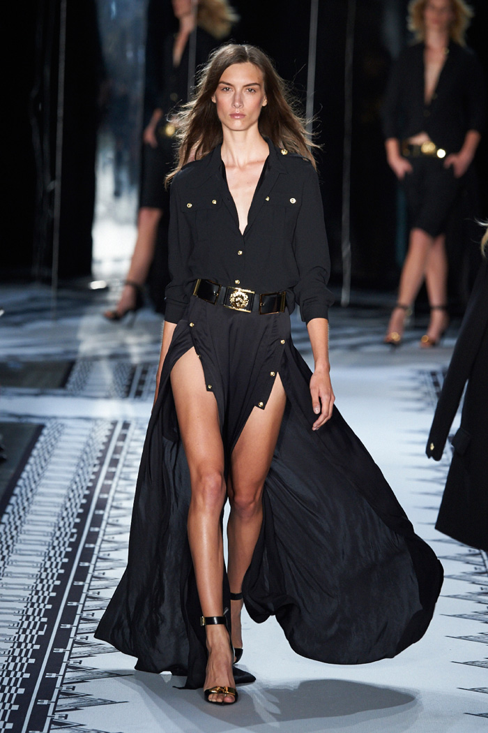 Anthony Vaccarello X Versus Versace Spring 2015 Collection