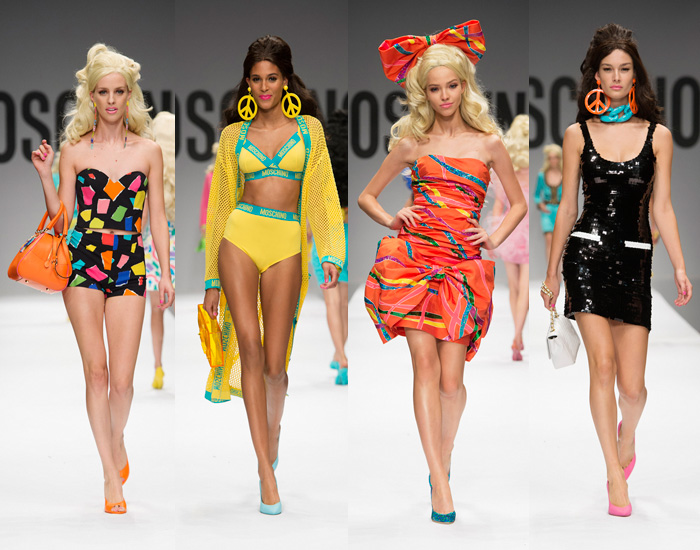 Moschino by Jeremy Scott Spring/Summer 2015 Collection
