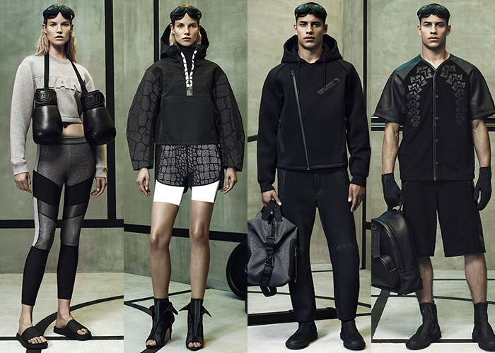 Alexander Wang x H&M Women's & Men's Lookbook