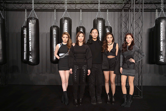 Alexander Wang x H&M Shanghai Launch Event