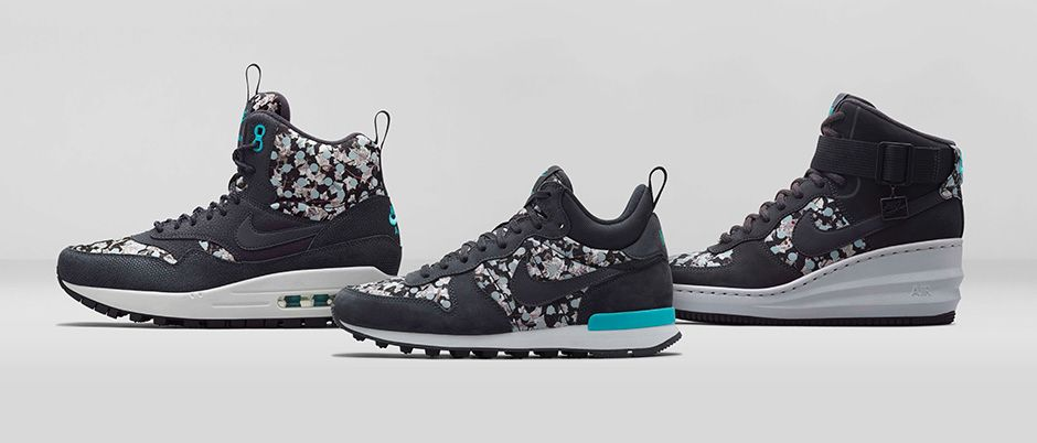 new arrival 58be8 79c42 Nike x Liberty Holiday 2014 Collection