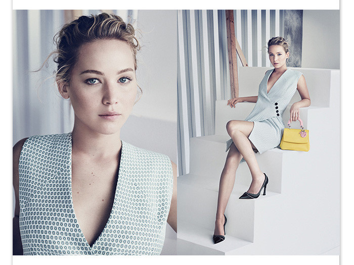 Jennifer Lawrence for Be Dior Ad Campaign