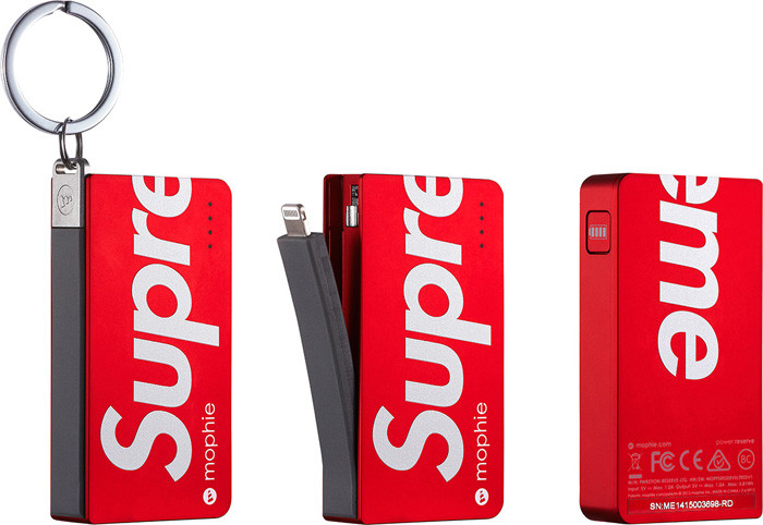 mophie x Supreme Limited Edition Power Reserve