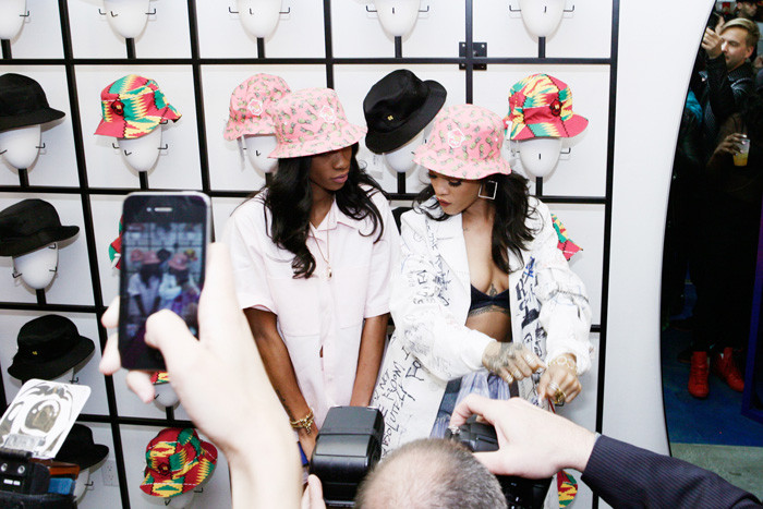 M$$ x WT Hat Launch at Opening Ceremony