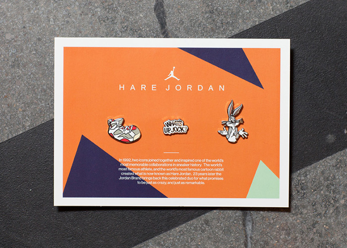 Hare Jordan Pin Collection