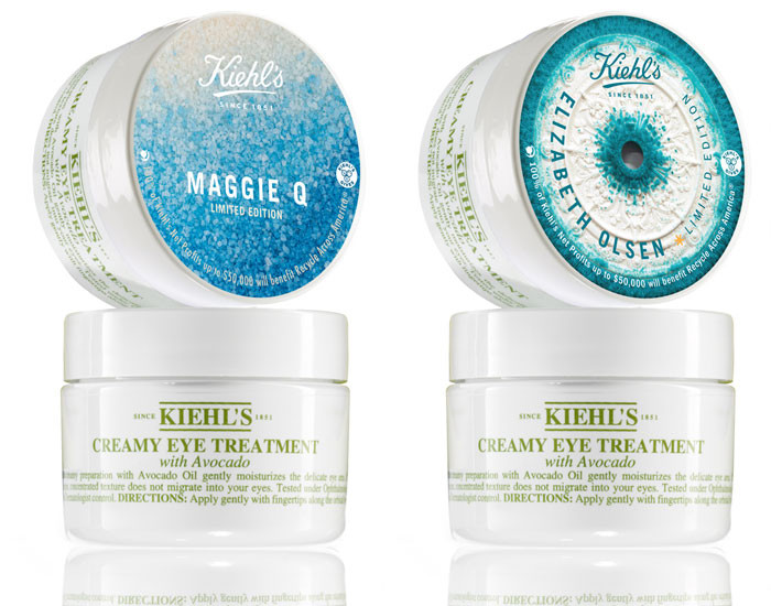 Kiehl's Earth Day Ft Elizabeth Olsen & Maggie Q for Recycle Across America