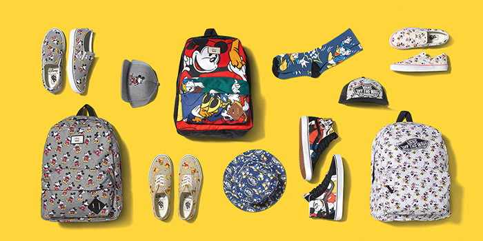 Vans x Disney Footwear and Apparel Fall 2015 Collection