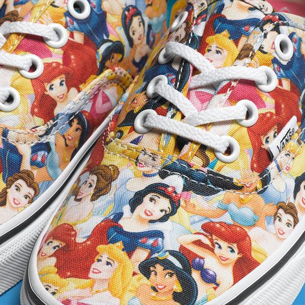 vans disney multi princess kids