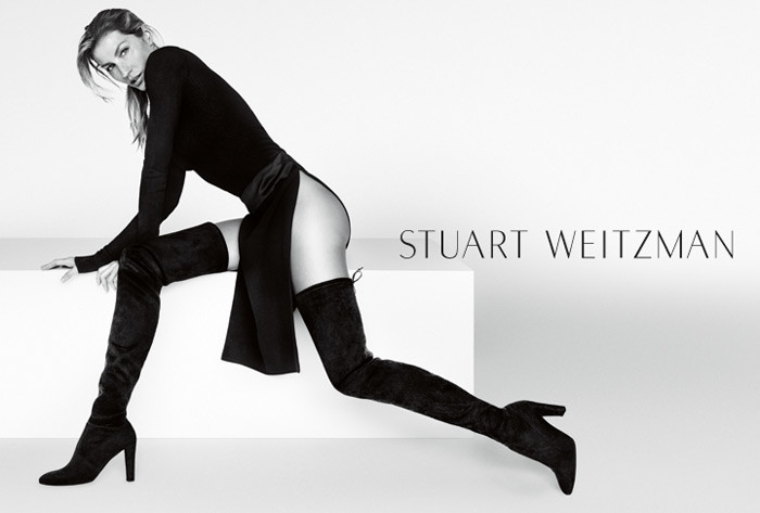 Gisele Bündchen for Stuart Weitzman Fall 2015 Campaign