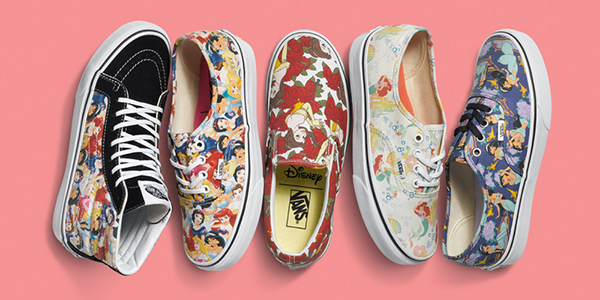 ecf2ca673e Vans x Disney Princess Footwear   Apparel Collection - nitrolicious.com