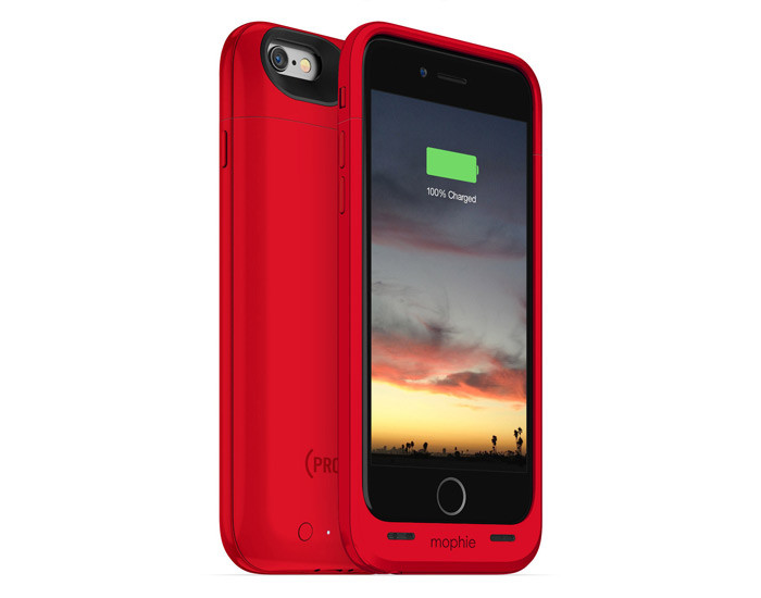 mophie x (RED) Juice Pack Air for iPhone 6