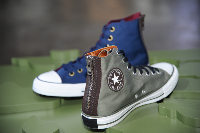 Converse CHUCK TAYLOR ALL STAR MA1 ZIP MILITARY LEATHER OX