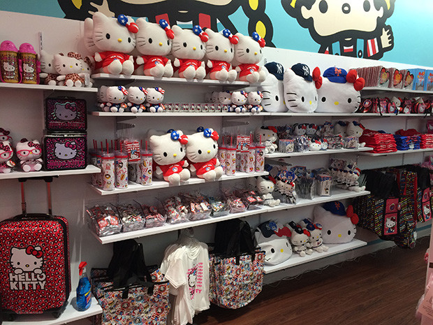 Sanrio Unveils Two Stores in New York