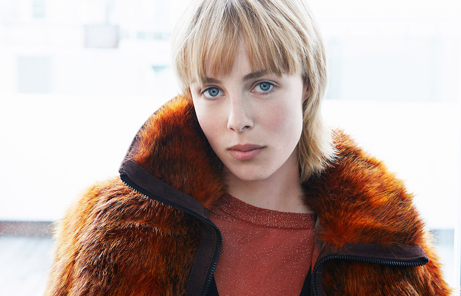 Edie Campbell for H&M Studio Fall/Winter 2015 Collection
