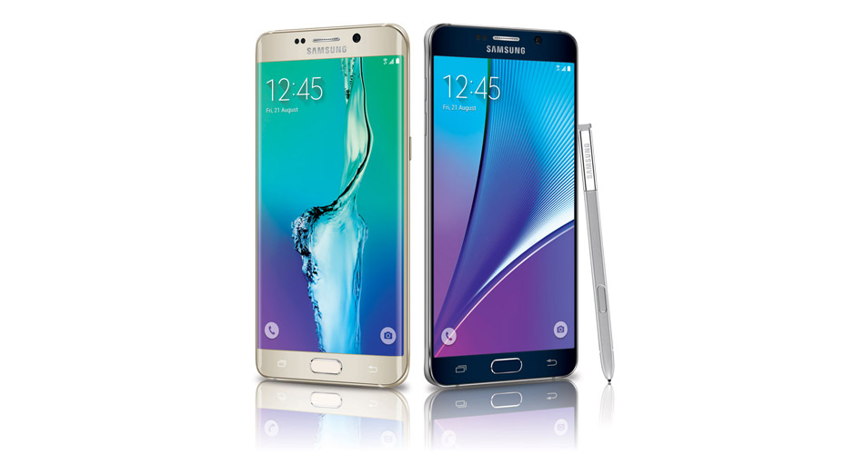 Samsung Galaxy S6 edge+ and Galaxy Note5