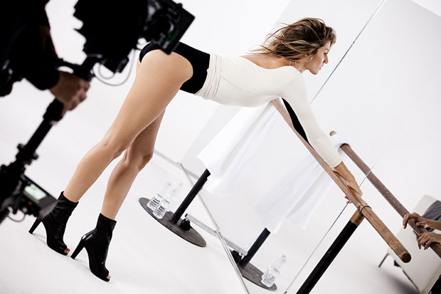 Gisele Bündchen for Stuart Weitzman's First Television Commercial
