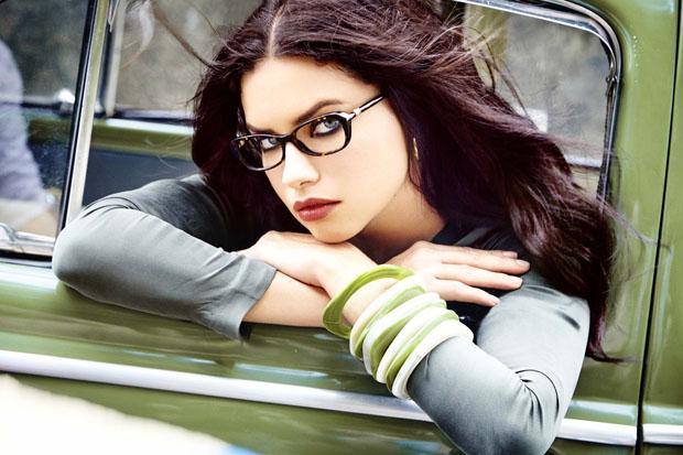 dc8be44757f Adriana Lima for Vogue Eyewear Fall 2015 Campaign - nitrolicious.com