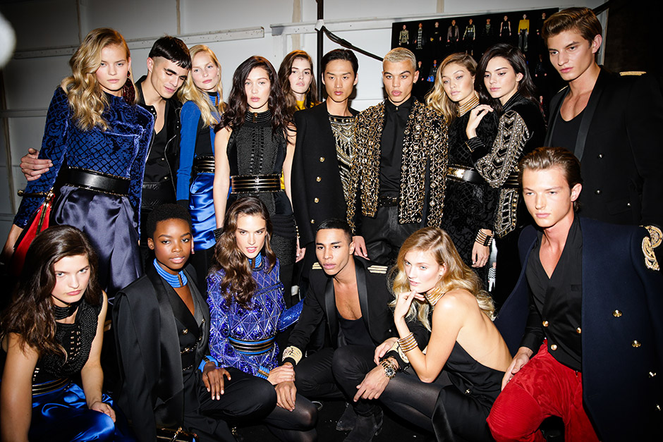 Balmain x H&M Launch Event in NYC #HMBALMAINATION
