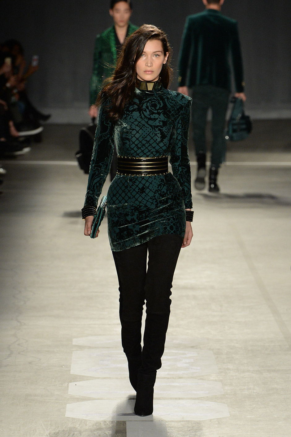 About Balmain Brand Balmain is a haute couture fashion house that was founded by Pierre Balmain. Balmain was born in in France. His father owned a drapery business and his mother and sister owned a fashion boutique where he often worked after his father's death in