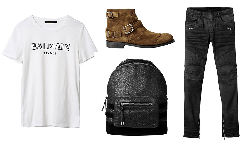 Balmain x H&M Men's Collection + Prices