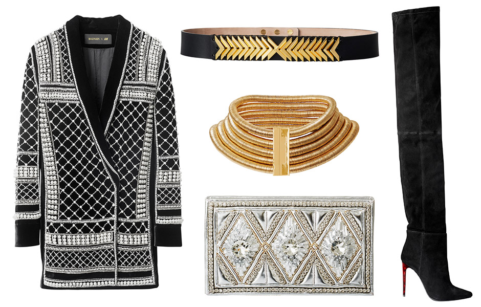 Balmain x H&M Women's Collection + Prices