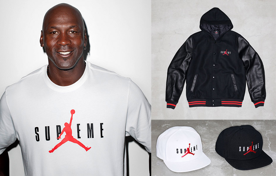 t-shirt supreme jordan air