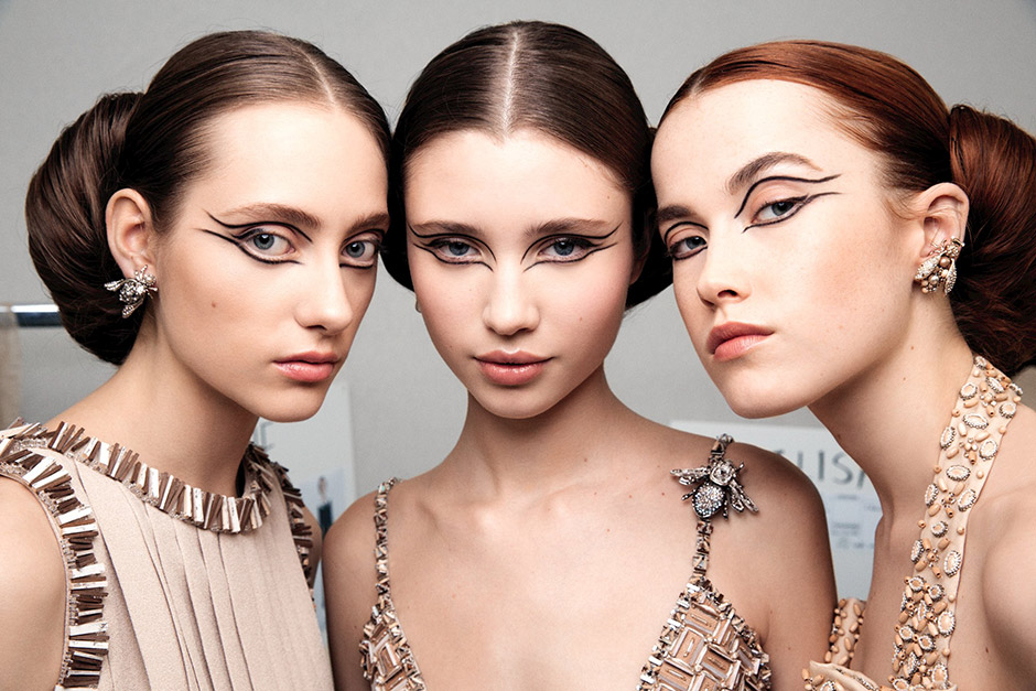 CHANEL Spring/Summer 2016 Haute Couture Show Backstage Makeup