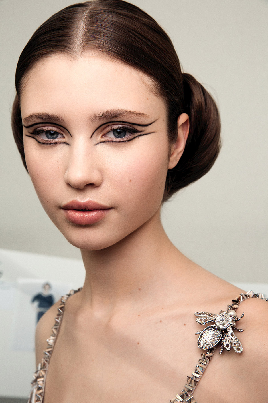 Chanel Spring Summer 2016 Haute Couture Show Backstage Makeup
