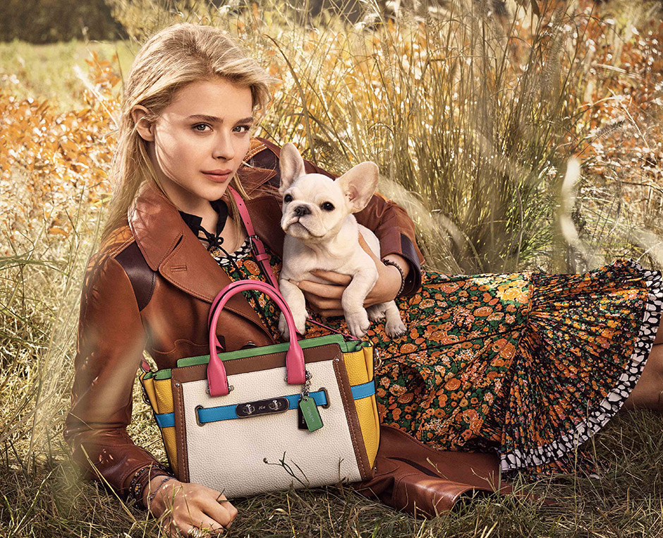 Chloë Grace Moretz for Coach New York Spring 2016 Campaign
