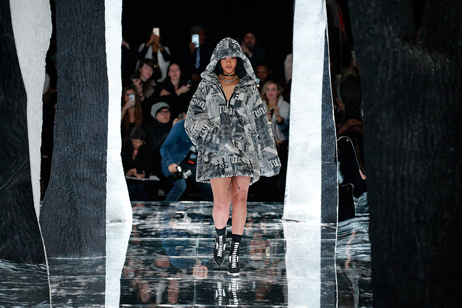FENTY PUMA by Rihanna Autumn/Winter 2016 Collection