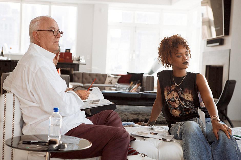 Rihanna x Manolo Blahnik 'Denim Desserts' Spring 2016 Collection