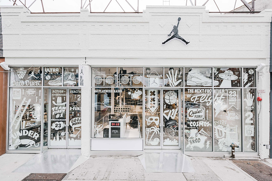 Jordan Brand 166 Flatbush Pop–Up Boutique Preview