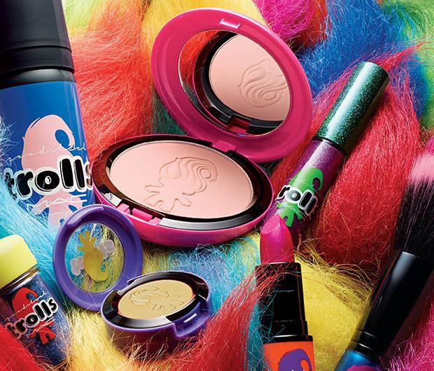 MAC Cosmetics Announces Good Luck Trolls Collection