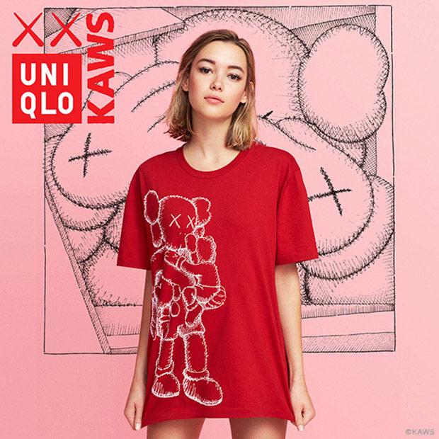 UNIQLO x KAWS UT Collection