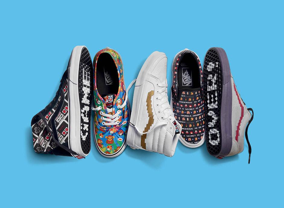 Vans x Nintendo Footwear, Apparel & Accessories Collection
