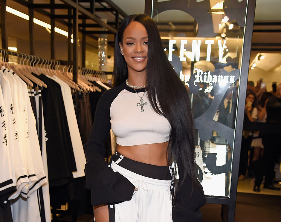 FENTY PUMA by Rihanna Launch at Bergdorf & Six:02