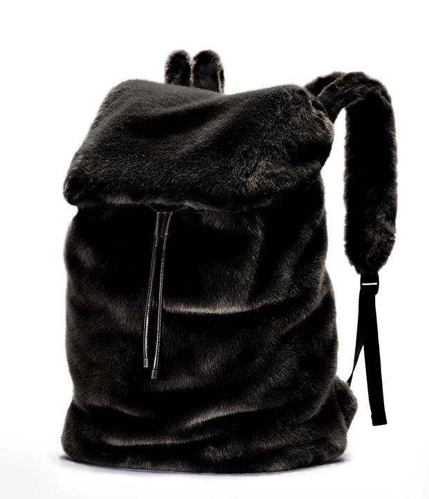designer fashion 6df00 45346 FENTY PUMA by Rihanna Faux Fur Backpack - nitrolicious.com