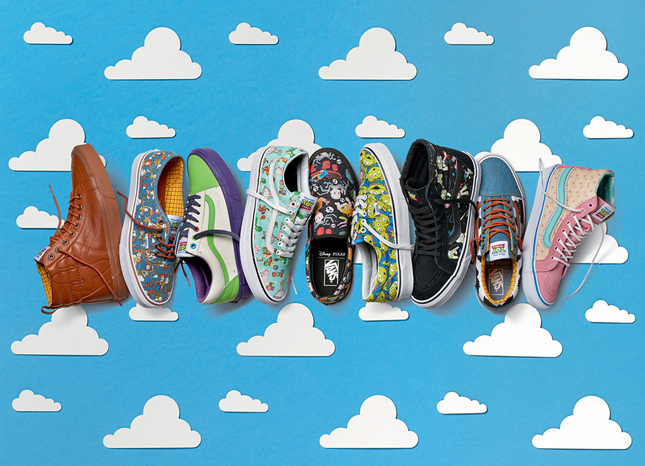 VANS x Disney•Pixar Toy Story Collection