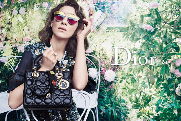 Marion Cotillard for Lady Dior 2016 Campaign