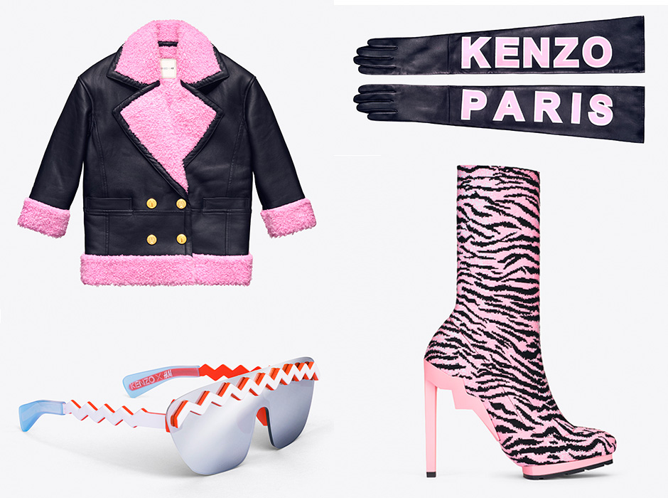 KENZO x H&M Full Collection + Price List
