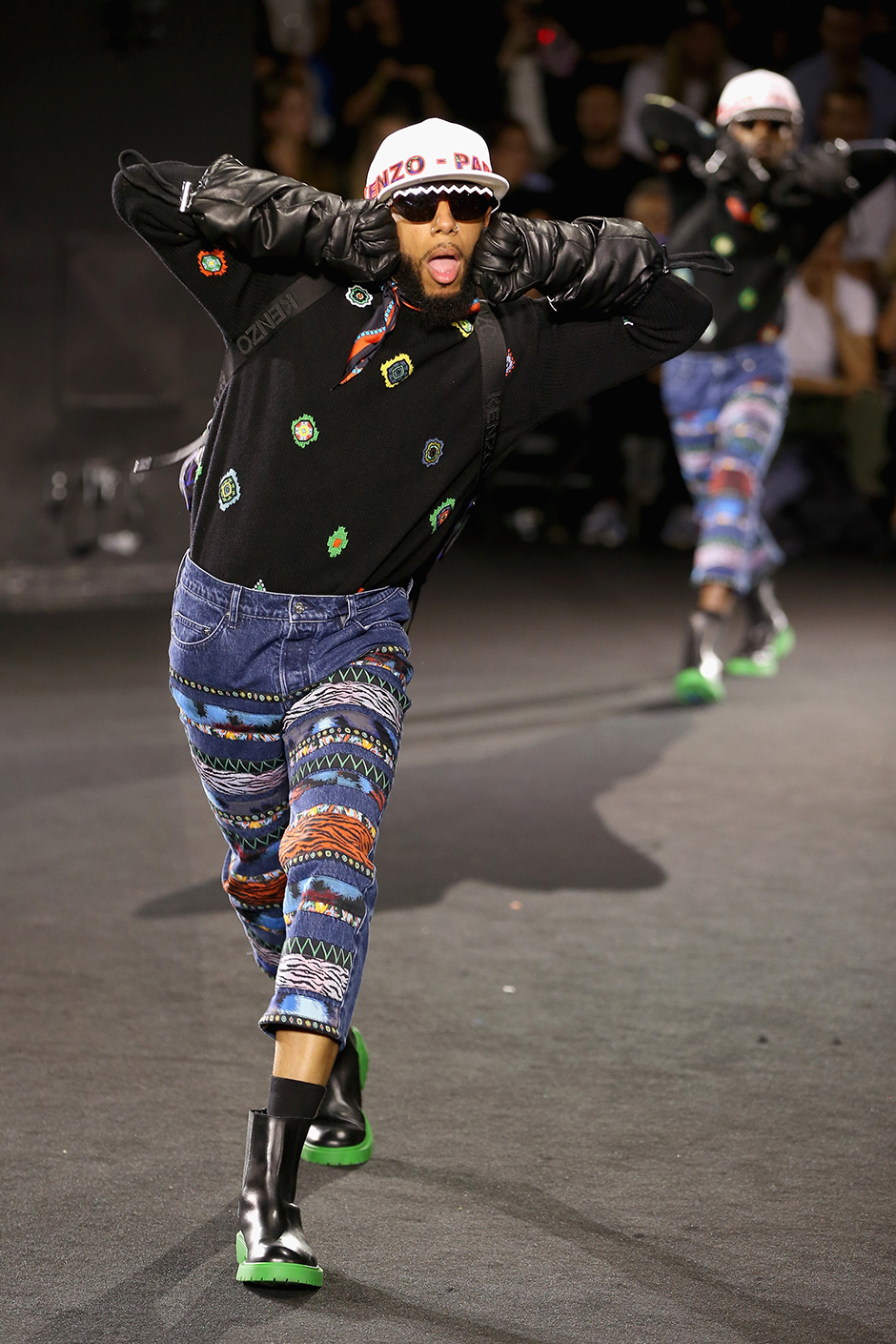 KENZO x H&M Fashion Show, Launch Party & Ice Cube ...