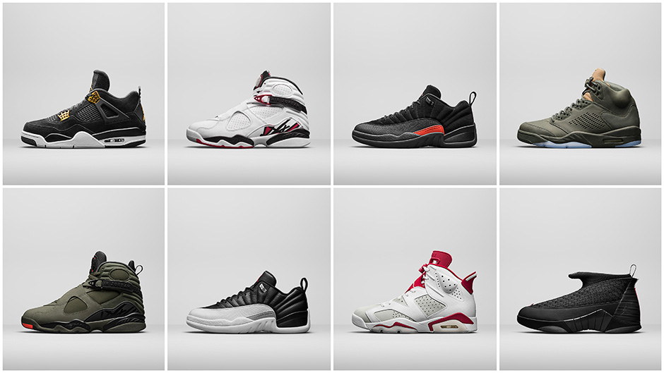 Air Jordan Spring 2017 Collection Preview