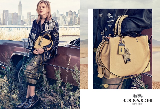 Chloë Grace Moretz for Coach New York Spring 2017 Campaign