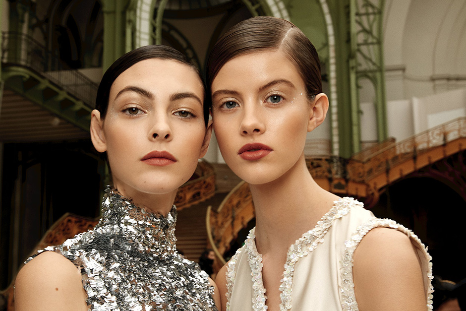 CHANEL Spring/Summer 2017 Haute Couture Show Backstage Makeup