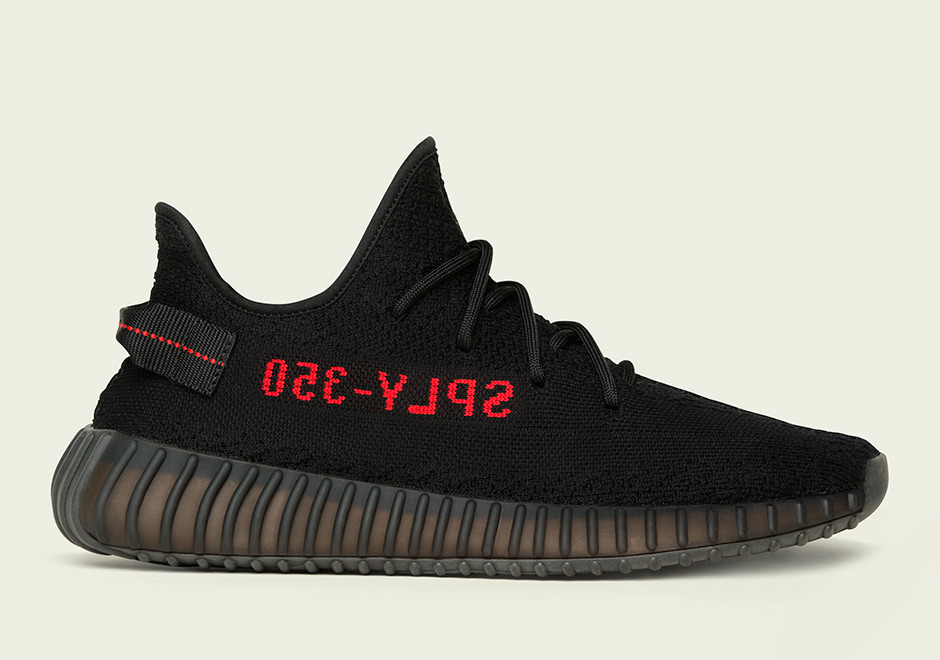 adidas Yeezy Boost 350 V2 Black/Red – Official Images