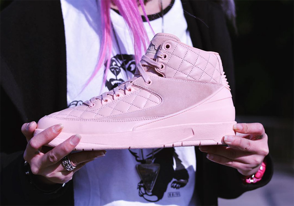 "best service fa0d0 4d281 The Just Don x Air Jordan 2 ""Pink"" Set To Release Spring Summer"